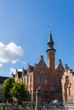 BRUGES, BELGIUM/ EUROPE - SEPTEMBER 25:  View of the Art School Stock Images
