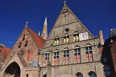 Bruges, Belgium. Flemish architecture Royalty Free Stock Photography