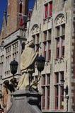 Bruges, Belgium. Flemish old architecture Royalty Free Stock Image