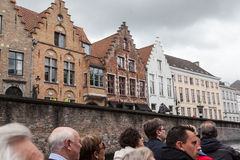 Bruges Belgium Historical Buildings Royalty Free Stock Photos
