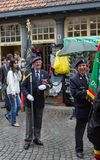 Veterans march in Bruges Stock Photos