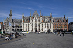 Bruges Provincial Court Royalty Free Stock Image