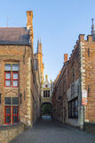 Bruges Belgium Medieval Buildings Royalty Free Stock Photos