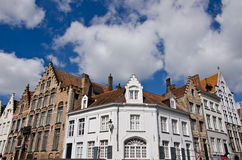 Bruges, Belgium. Old medieval building, Bruges, Belgium Royalty Free Stock Photos