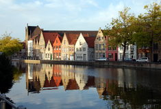 Bruges, Belgium. Bruges - small town in  Belgium Royalty Free Stock Photography