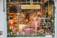 Bruges Belgium Toy Store Stock Photography