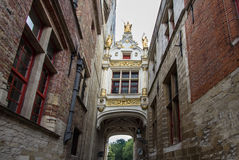 Bruges, Belgium. Traditional medieval archtecture in Bruges, Belgium Royalty Free Stock Photography