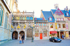 Bruges Belgium. A view from the city of Bruges, Belgium Royalty Free Stock Image