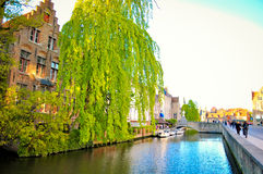 Bruges Belgium Stock Photography