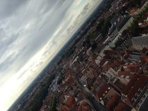 Bruges bird's-eye view Royalty Free Stock Photography