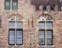 Bruges Brick Building Belgium Royalty Free Stock Images