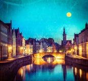 Bruges (Bruges), Bélgica Foto de Stock Royalty Free