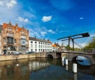 Bruges (Bruges), Bélgica Fotografia de Stock
