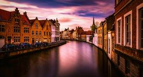 Bruges Bruges dans la ville néerlandaise en Belgique Images libres de droits
