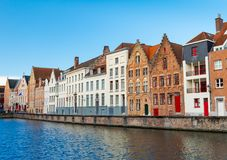 Bruges Brugge, Belgia Zdjęcie Royalty Free