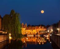 Bruges (Brugge), Belgien Arkivfoto