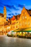 Bruges, Burg en Flandre - en Belgique photographie stock libre de droits