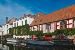 Bruges canal. Royalty Free Stock Image