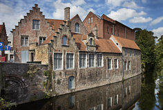 Bruges canal, Belgium Stock Image
