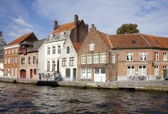 Bruges canal, Belgium Royalty Free Stock Photos