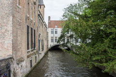 Bruges Canal Belgium Stock Images