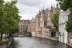 Bruges Canal Belgium Royalty Free Stock Photo