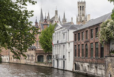 Bruges Canal Belgium Royalty Free Stock Images