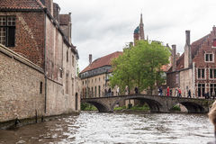 Bruges Canal Belgium Royalty Free Stock Photography