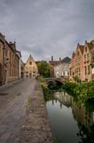 Bruges Canal Stock Image