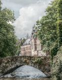 Bruges, Canal, Romantic Royalty Free Stock Image