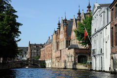 Bruges canal Stock Photos