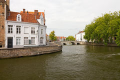 Bruges Canals Royalty Free Stock Photography