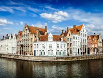 Bruges canals Stock Photo