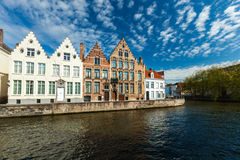 Bruges canals Royalty Free Stock Image
