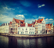Bruges canals Stock Image