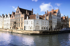 Bruges cannal Stock Photography