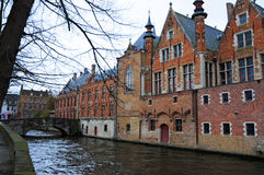 Bruges cannal Royalty Free Stock Images