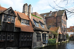Bruges cannal Royalty Free Stock Photos