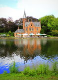Bruges castle Belgium Stock Photo