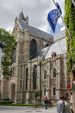 Bruges Cathedral Belgium Royalty Free Stock Photos