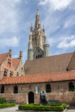 Bruges Cathedral Belgium Royalty Free Stock Image