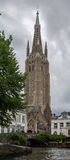 Bruges Cathedral Belgium Royalty Free Stock Photography
