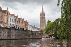 Bruges Cathedral Belgium Royalty Free Stock Photo