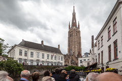 Bruges Cathedral Belgium Royalty Free Stock Images