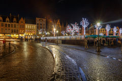 Bruges at Christmas. Stock Images