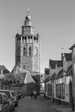 Bruges - Church of Jerusalem from north. Stock Photo