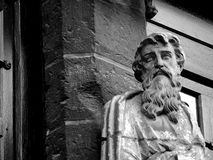 Bruges ściany statua Fotografia Royalty Free