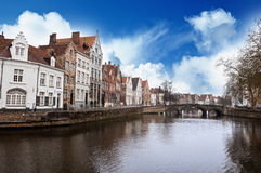 Bruges city Royalty Free Stock Photography