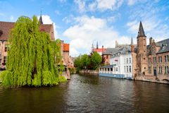 Bruges city in Belgium Royalty Free Stock Photo