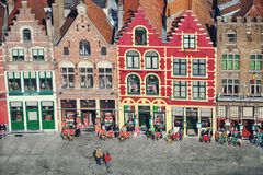 Bruges city center, Belgium Royalty Free Stock Images